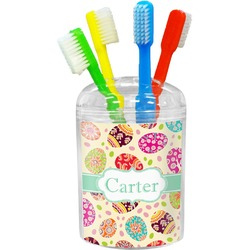Easter Eggs Toothbrush Holder (Personalized)