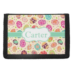 Easter Eggs Trifold Wallet (Personalized)