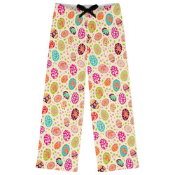 Easter Eggs Womens Pajama Pants (Personalized)