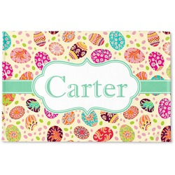 Easter Eggs Woven Mat (Personalized)