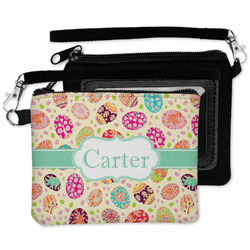 Easter Eggs Wristlet ID Case w/ Name or Text