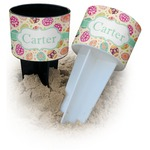 Easter Eggs Beach Spiker Drink Holder (Personalized)