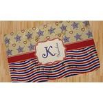Vintage Stars & Stripes Area Rug (Personalized)