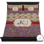 Vintage Stars & Stripes Duvet Covers (Personalized)