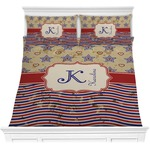 Vintage Stars & Stripes Comforter Set (Personalized)