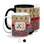 Vintage Stars & Stripes Coffee Mugs (Personalized)