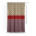 Vintage Stars & Stripes Curtain (Personalized)