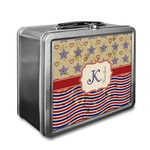 Vintage Stars & Stripes Lunch Box (Personalized)