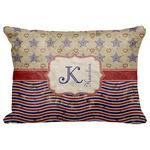 "Vintage Stars & Stripes Decorative Baby Pillowcase - 16""x12"" (Personalized)"
