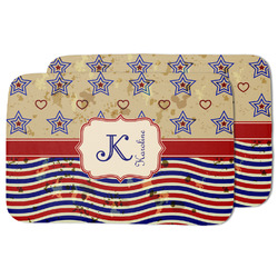 Vintage Stars & Stripes Dish Drying Mat (Personalized)