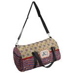 Vintage Stars & Stripes Duffel Bag (Personalized)