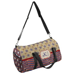 Vintage Stars & Stripes Duffel Bag (Personalized)