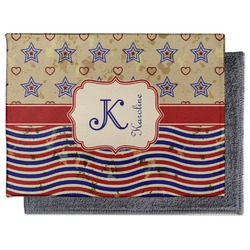 Vintage Stars & Stripes Microfiber Screen Cleaner (Personalized)