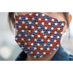 Vintage Stars & Stripes Face Mask Cover (Personalized)