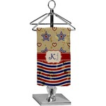 Vintage Stars & Stripes Finger Tip Towel - Full Print (Personalized)