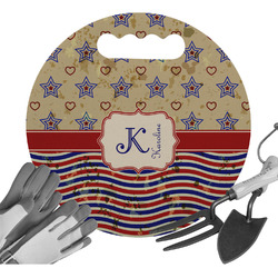 Vintage Stars & Stripes Gardening Knee Cushion (Personalized)