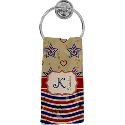 Vintage Stars & Stripes Hand Towel - Full Print (Personalized)