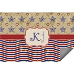 Vintage Stars & Stripes Indoor / Outdoor Rug (Personalized)