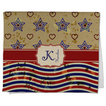 Vintage Stars & Stripes Kitchen Towel - Full Print (Personalized)