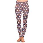 Vintage Stars & Stripes Ladies Leggings (Personalized)