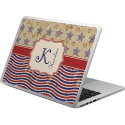 Vintage Stars & Stripes Laptop Skin - Custom Sized (Personalized)
