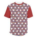 Vintage Stars & Stripes Men's Crew T-Shirt (Personalized)