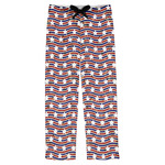 Vintage Stars & Stripes Mens Pajama Pants (Personalized)