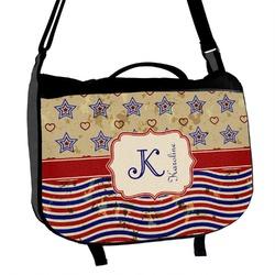 Vintage Stars & Stripes Messenger Bag (Personalized)