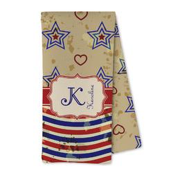 Vintage Stars & Stripes Microfiber Kitchen Towel (Personalized)