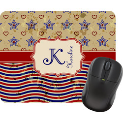 Vintage Stars & Stripes Mouse Pads (Personalized)