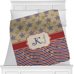 Vintage Stars & Stripes Blanket (Personalized)