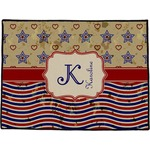 Vintage Stars & Stripes Door Mat (Personalized)