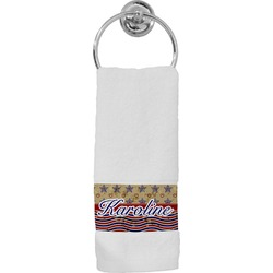 Vintage Stars & Stripes Hand Towel (Personalized)