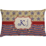 Vintage Stars & Stripes Pillow Case (Personalized)