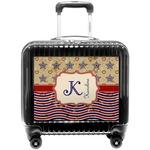 Vintage Stars & Stripes Pilot / Flight Suitcase (Personalized)