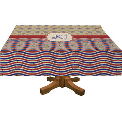 Vintage Stars & Stripes Tablecloth (Personalized)