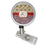 Vintage Stars & Stripes Retractable Badge Reel (Personalized)