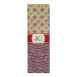 Vintage Stars & Stripes Runner Rug - 3.66'x8' (Personalized)