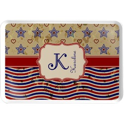 Vintage Stars & Stripes Serving Tray (Personalized)