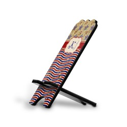Vintage Stars & Stripes Stylized Phone Stand (Personalized)