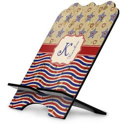 Vintage Stars & Stripes Stylized Tablet Stand (Personalized)