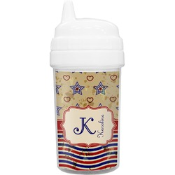 Vintage Stars & Stripes Sippy Cup (Personalized)
