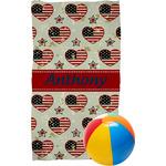 Americana Beach Towel (Personalized)