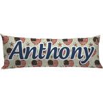 Americana Body Pillow Case (Personalized)