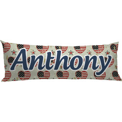 Americana Body Pillow Case (Personalized)