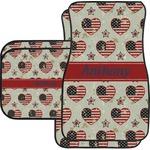 Americana Car Floor Mats (Personalized)