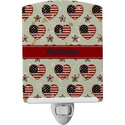Americana Ceramic Night Light (Personalized)