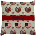 Americana Decorative Pillow Case (Personalized)