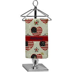 Americana Finger Tip Towel - Full Print (Personalized)
