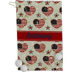 Americana Golf Towel - Full Print (Personalized)